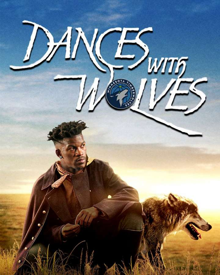 NBA Movie Remakes: Jimmy Butler in 'Dances with Wolves'