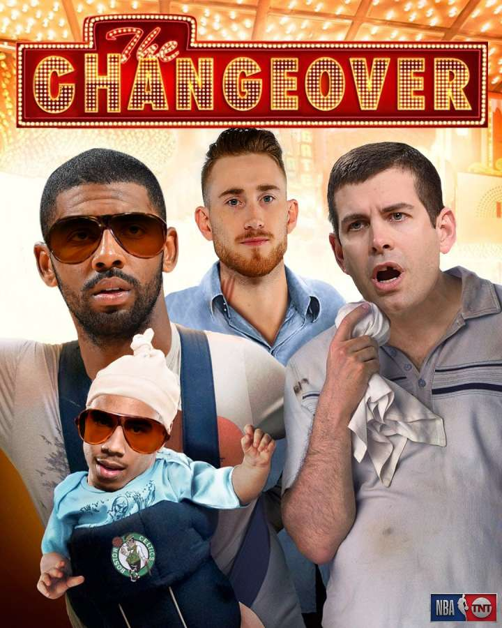 NBA Movie Remakes: Kyrie Irving and Brad Stevens in 'The Changeover'