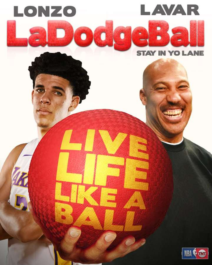 NBA Movie Remakes: Lonzo and LaVar Ball in 'LaDodgeBall'