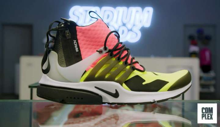 Nike Air Presto Mid bought by Roger Federer