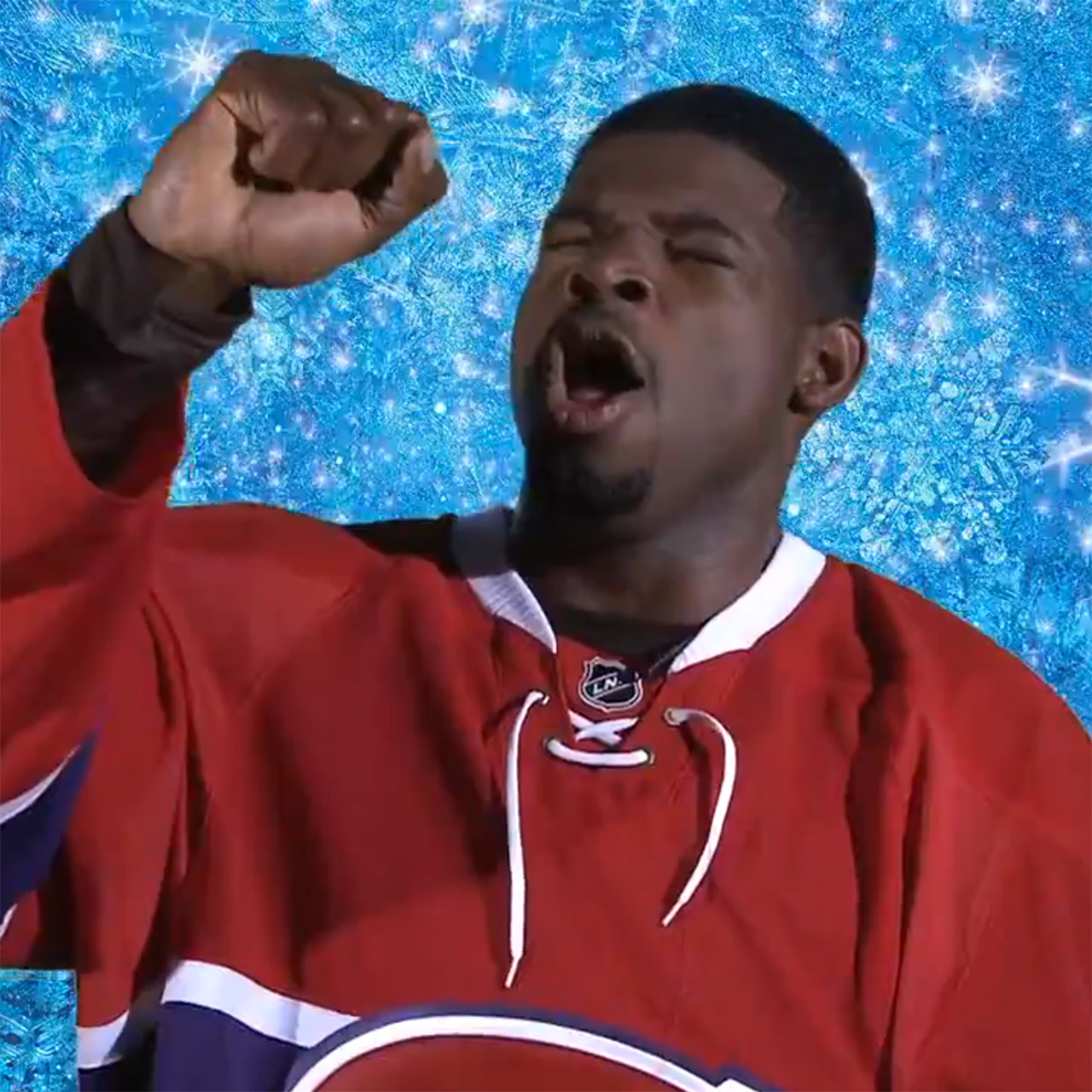 "P.K. Subban and the Habs sing ""Let it Go"" from Disney's 'Frozen'"