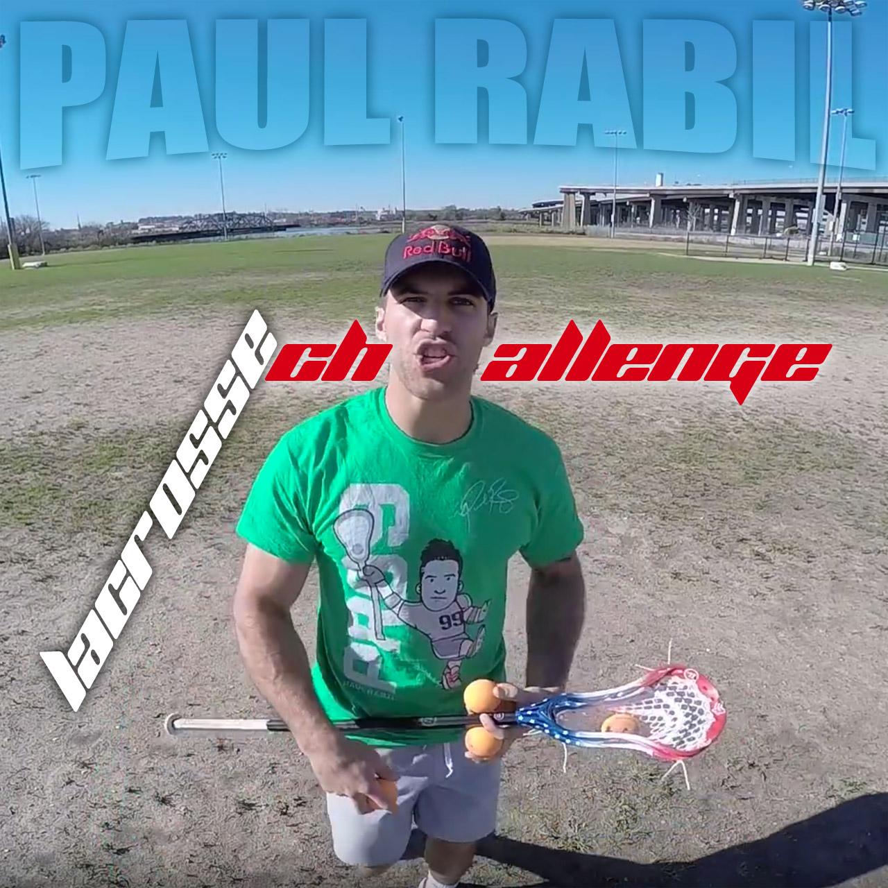Paul Rabil lacrosse challenge
