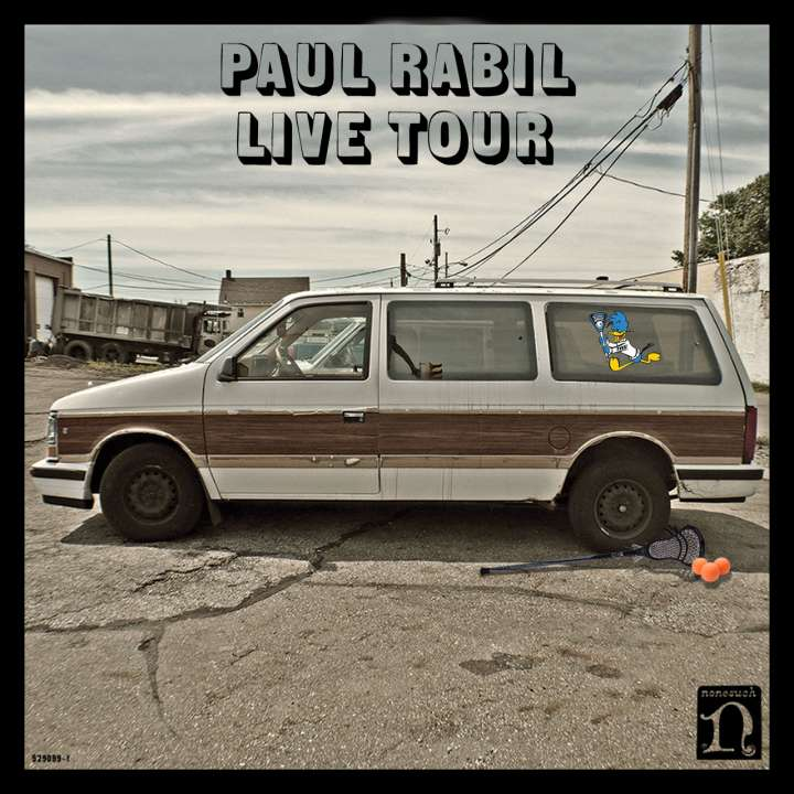 Paul Rabil Live Tour parody of 'El Camino' album cover from The Black Keys