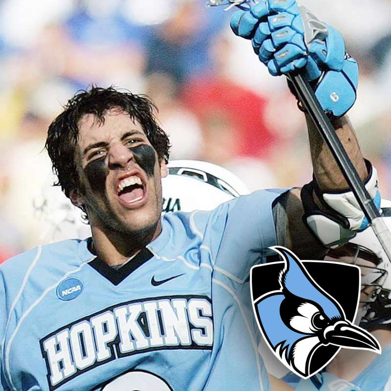 Paul Rabil with Johns Hopkins Blue Jays lacrosse