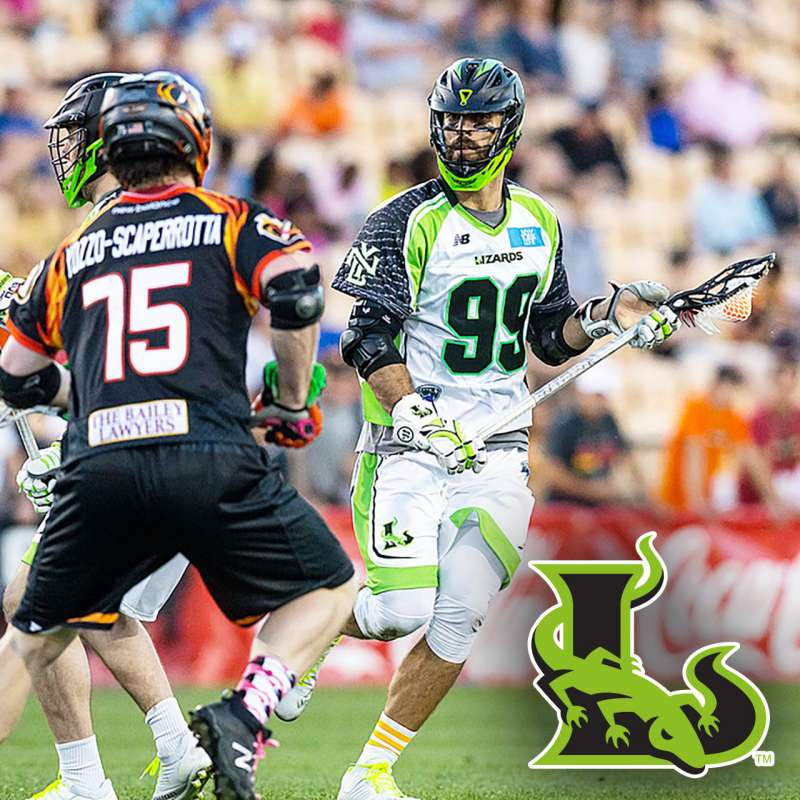 Paul Rabil with New York Lizards lacrosse