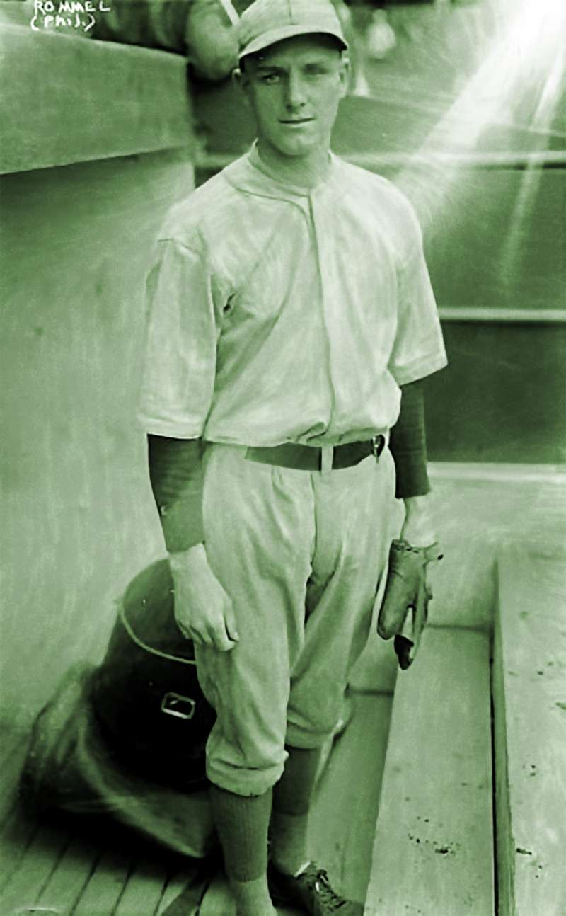 Philadelphia Athletics pitcher Eddie Rommel