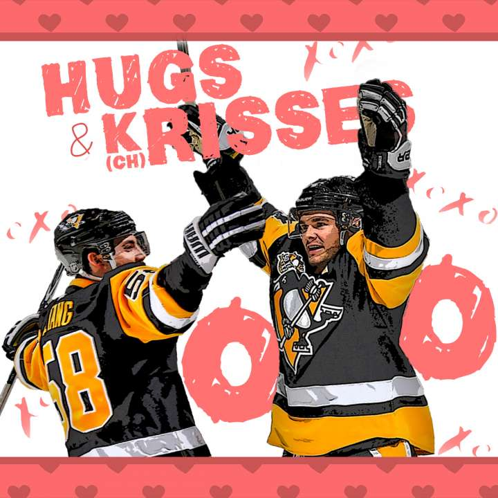 Pittsburgh Penguins Valentine from Chris Kunitz and Kris Letang