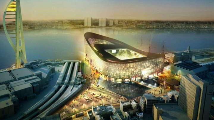 Portsmouth FC's proposed Dockland Stadium