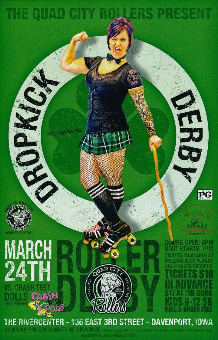 Quad City Rollers present Dropkick Derby