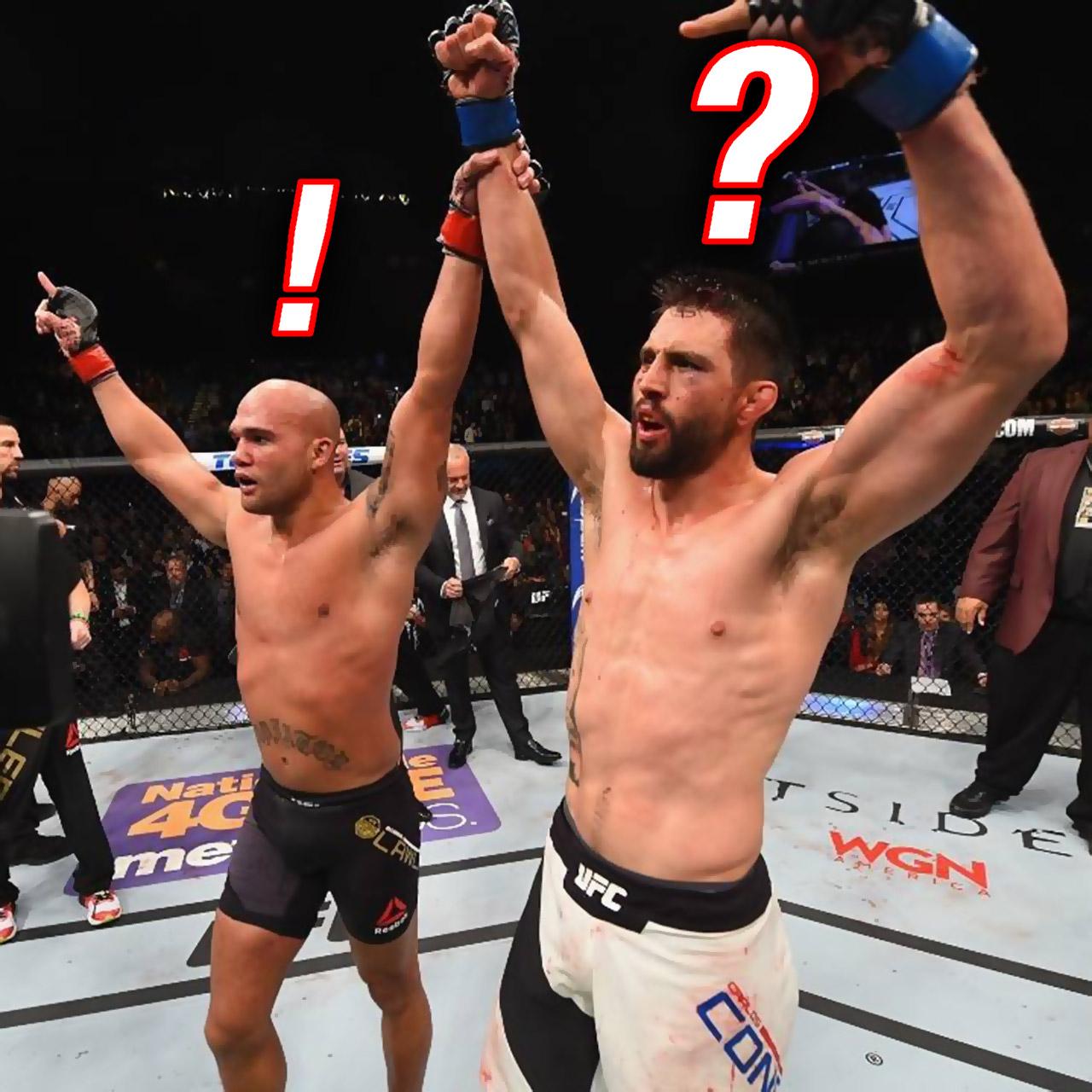 Robbie Lawler vs. Carlos Condit UFC 195 scoring controversy