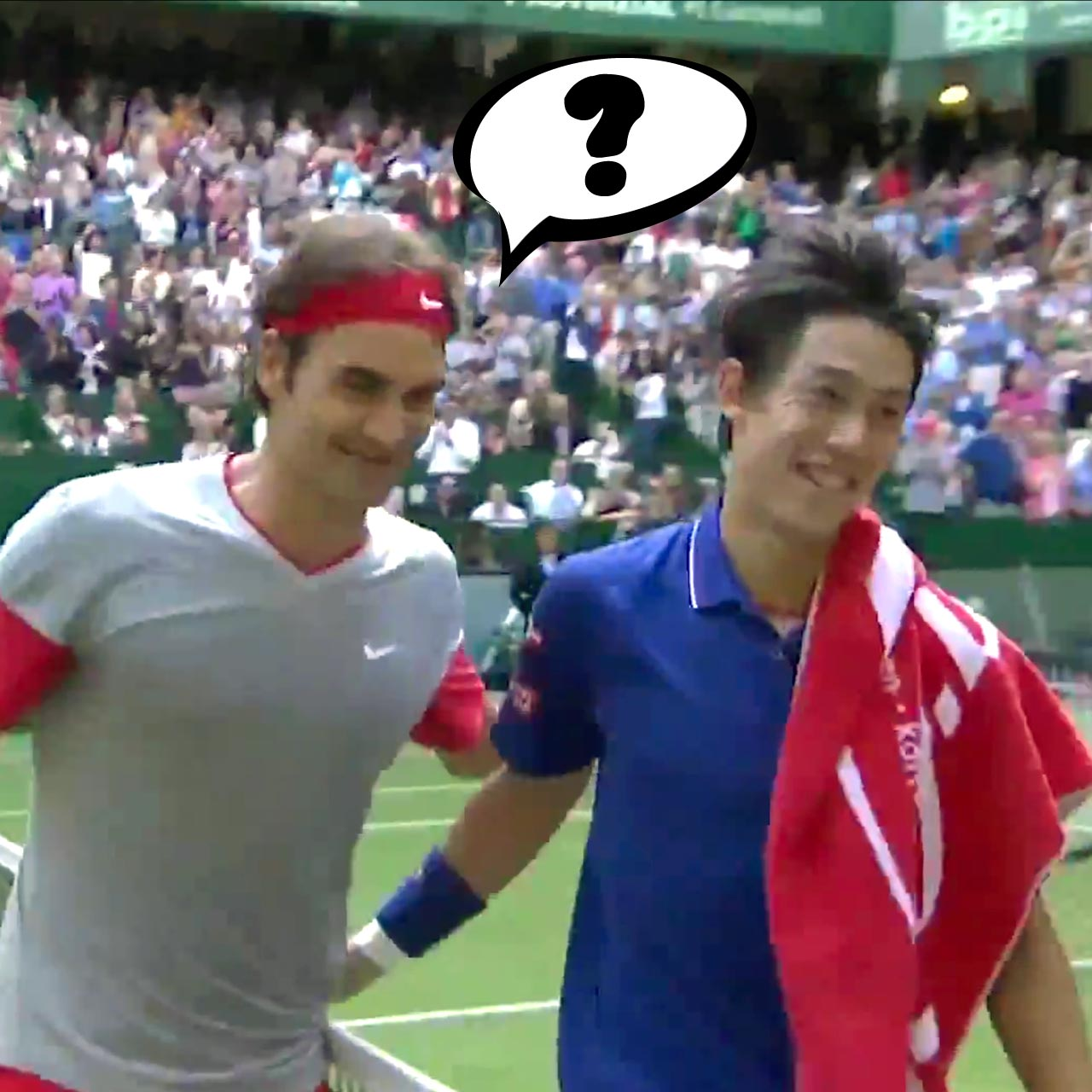 Roger Federer loses track of match point at Gerry Weber Open