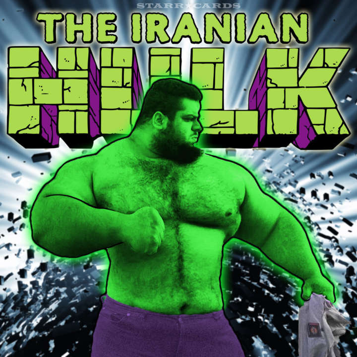 "Sajad Gharibii aka ""Iranian Hulk"" could revive old WWE storyline"