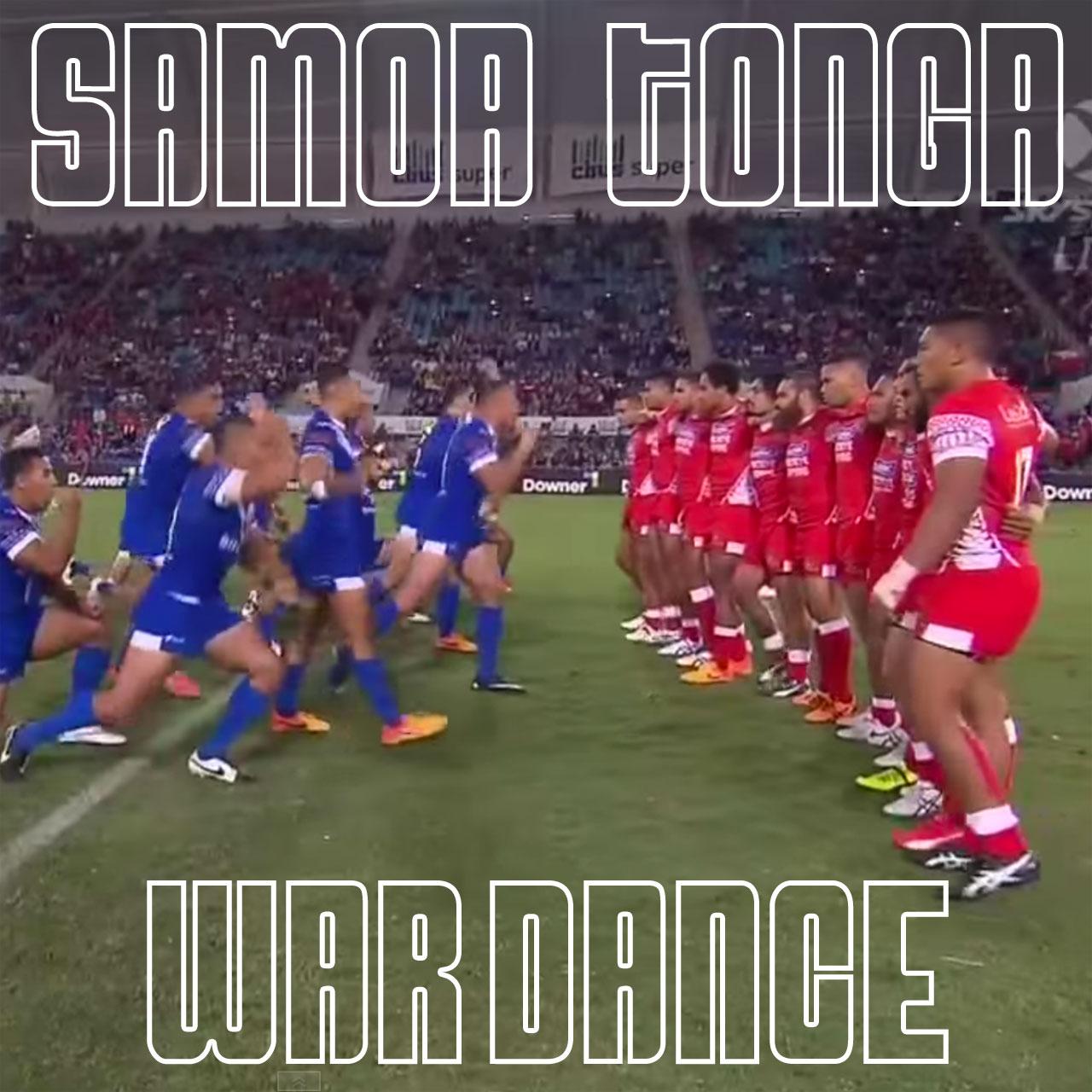 Samoa vs Tonga: Rugby war dance