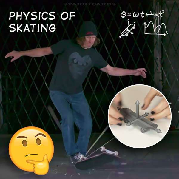 Science of Skateboarding: Physics Girl studies Rodney Mullen