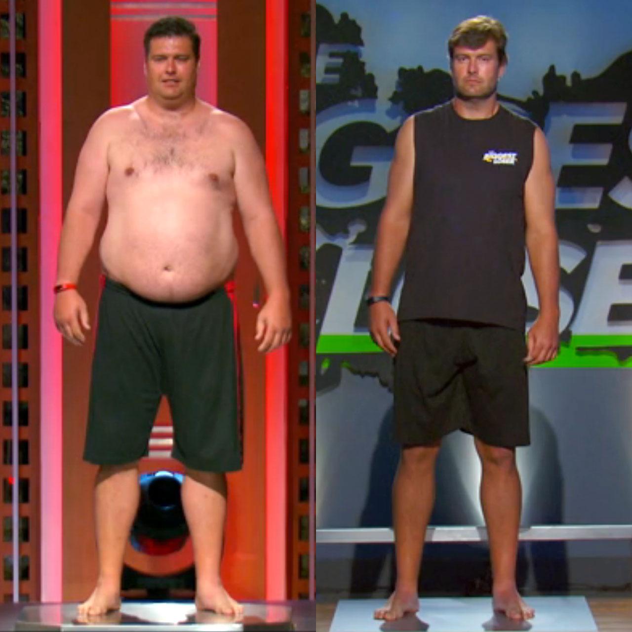 "Former Detroit Lions quarterback Scott Mitchell sheds pounds on ""The Biggest Loser"""