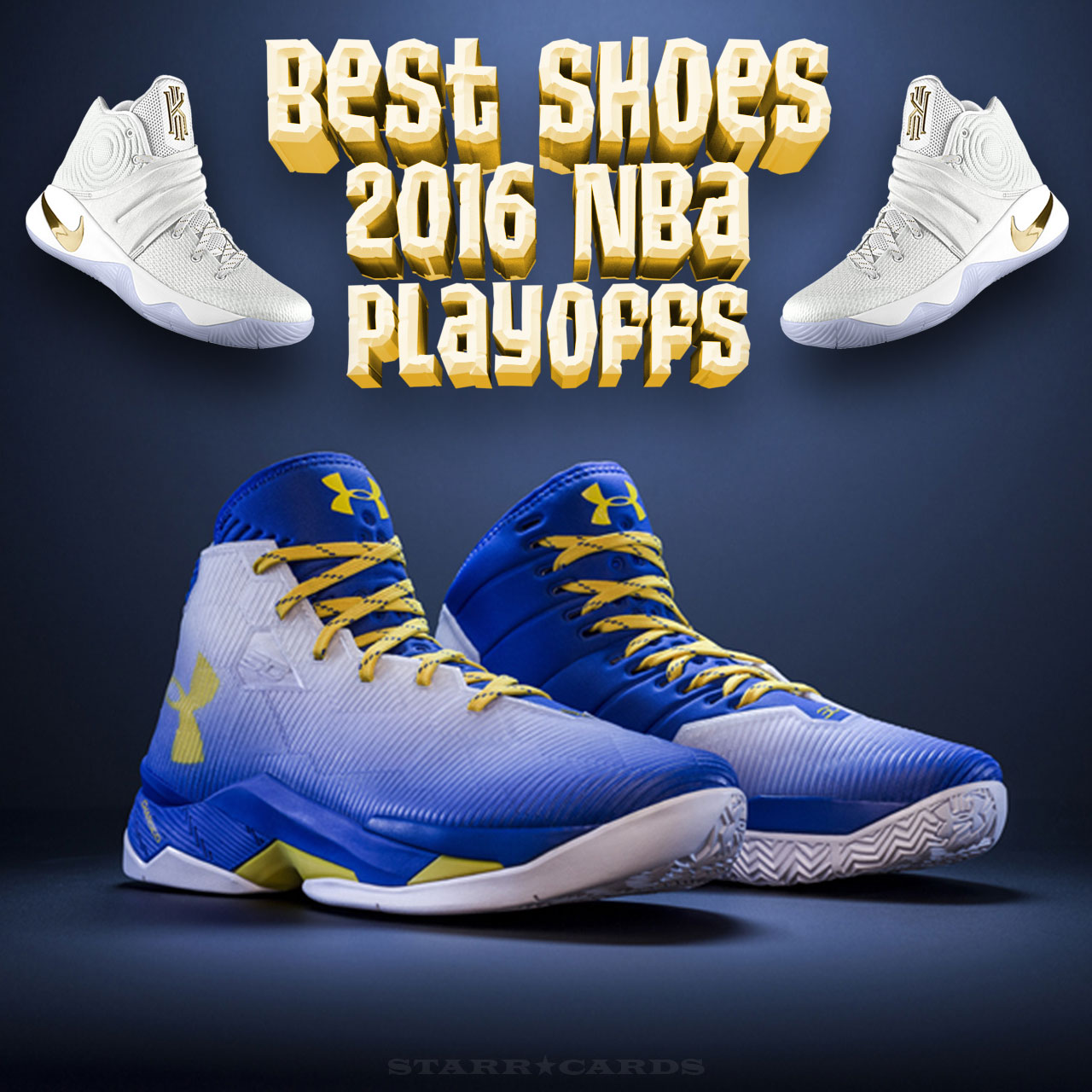 769cd4cf016e Steph Curry and Kyrie Irving shoes make Best Shoes 2018 NBA Playoffs list
