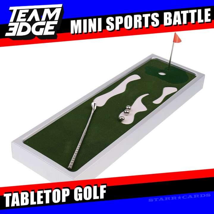 Team Edge Mini Sports Battle: Tabletop Golf