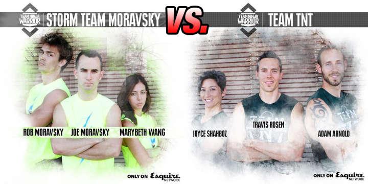 Team Ninja Warrior: Storm Team Moravsky vs Team TNT