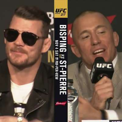 UFC 217: Bisping vs St-Pierre at Madison Square Garden
