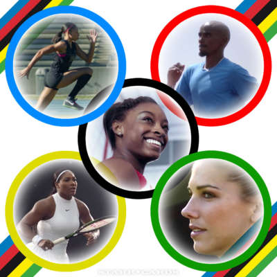Unlimited drive: Allyson Felix, Simon Biles, Mo Farah, Serena Williams, and Alex Morgan ready for Rio 2016