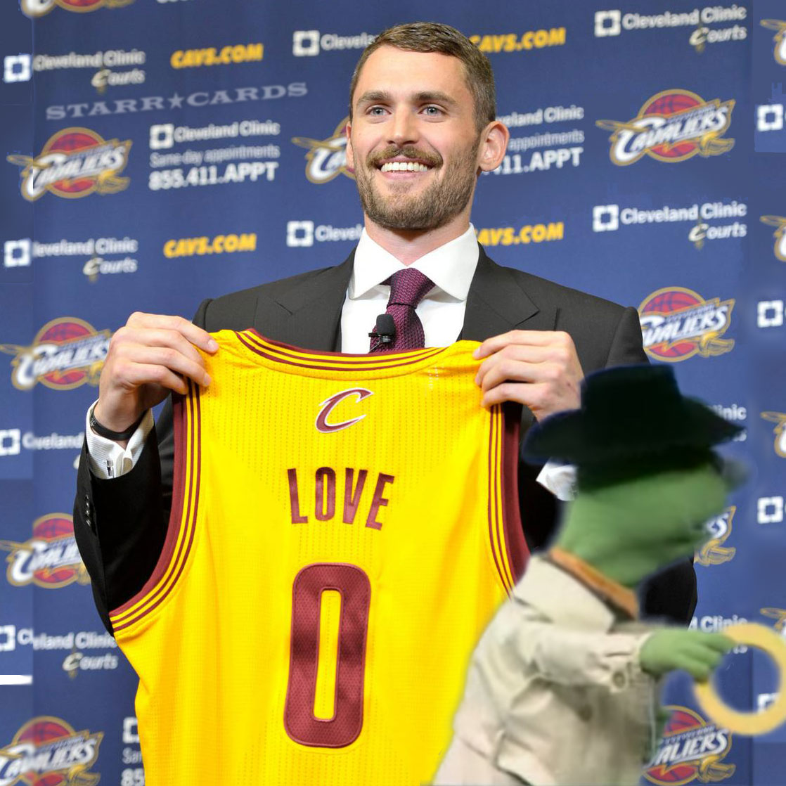 "Was Kevin Love suckered into buying an ""O""?"