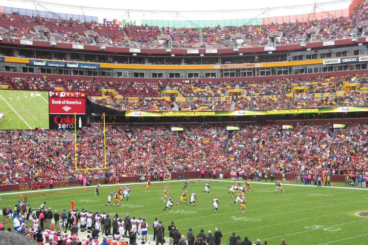 Washington Redskins' FedExField