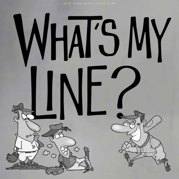 'What's My Line?' starring baseball players