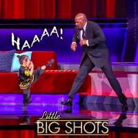 5-year-old kung fu artist Calleigh Tsay impresses Steve Harvey on 'Little Big Shots'