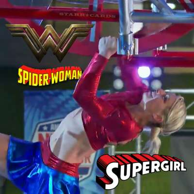 ANW Supergirl Jessie Graff is equal parts Wonder Woman and Spider-Woman