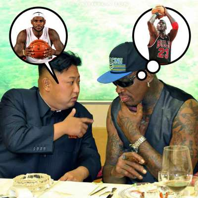 Basketball Diplomacy: Dennis Rodman and Kim Jong-il talk hoops