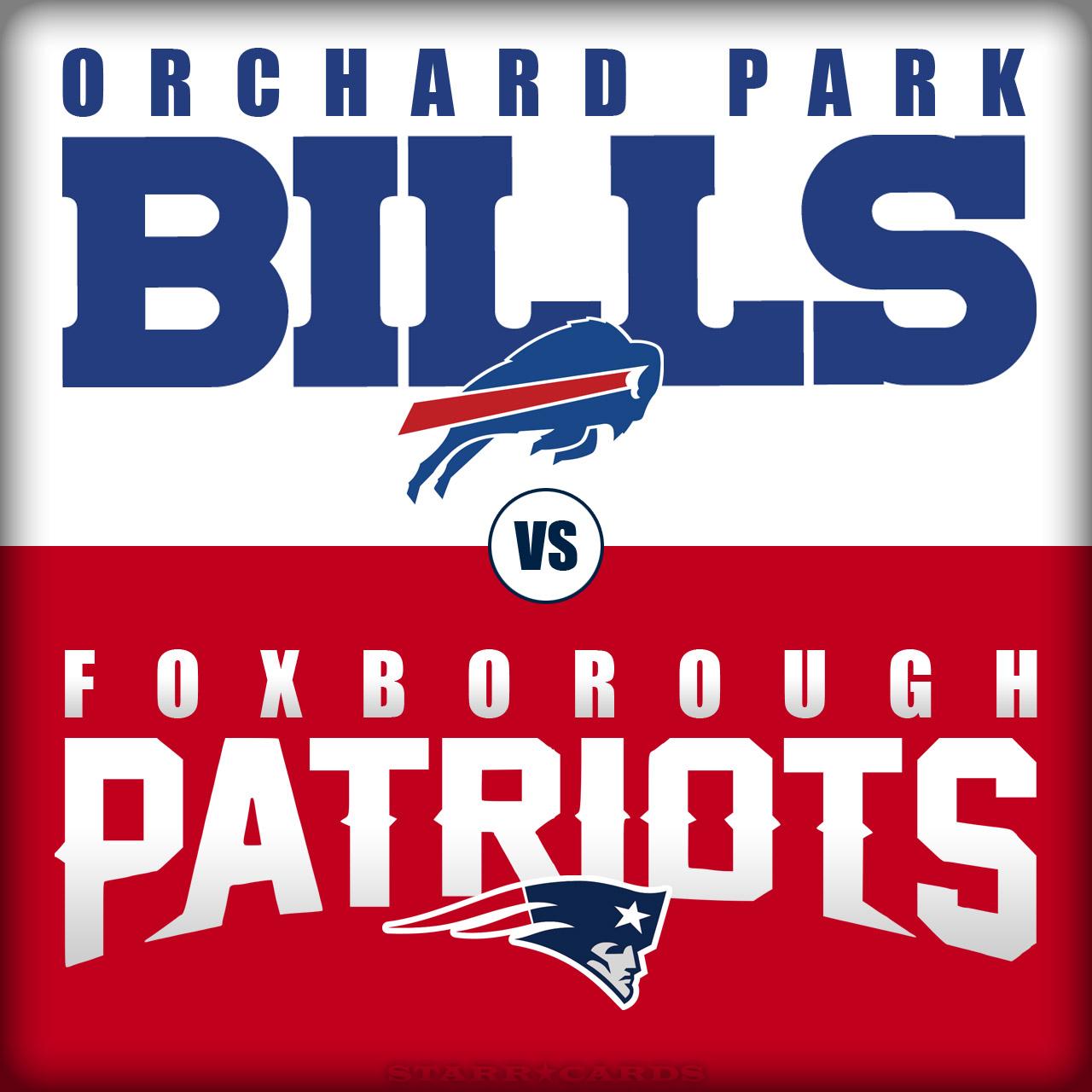 Buffalo Bills vs New England Patriots, or Orchard Park Bills vs Foxborough Patriots?
