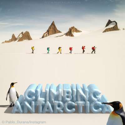 Climbing Antarctica: Alex Honnold joins expedition on the frozen continent