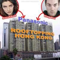 Climbing Hong Kong's Panasonic sign with rooftoppers Magdalena Sieczkarek, James Kingston