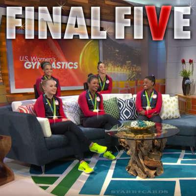 """""""Final Five"""" enjoy gold medal moment"""