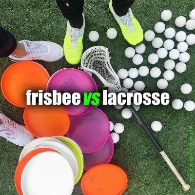 Frisbee vs Lacrosse battle starring Brodie Smith and Paul Rabil