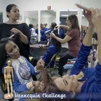 Golden State Warriors cheerleaders take the Mannequin Challenge