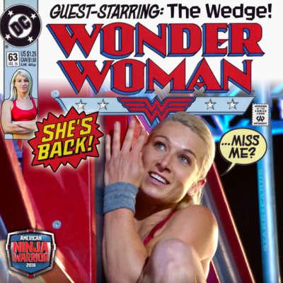 Jessie Graf makes Wonder Woman come to life on 'American Ninja Warrior'