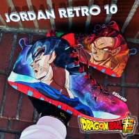 Jordan Retro 10s get Dragon Ball treatment from Sierato