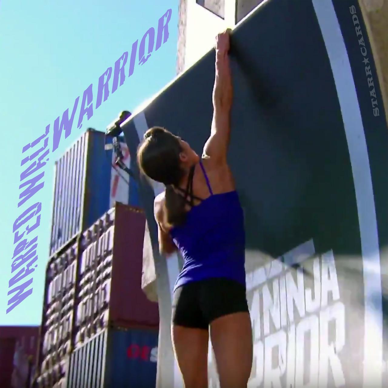 Kacy Catanzaro scales the Warped Wall on 'Team Ninja Warrior'