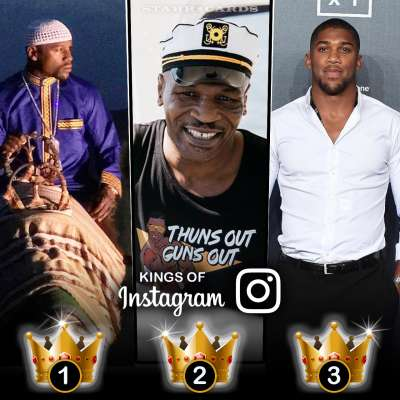 Kings of Instagram: Floyd Mayweather Jr, Mike Tyson, Anthony Joshua have most followers among boxers