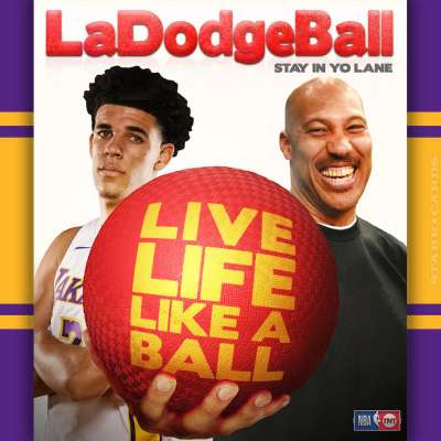 LA Lakers guard Lonzo Ball ready to bring LaDodgeBall to the Staples Center