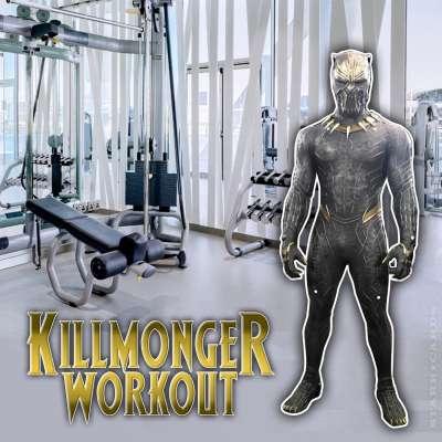 Michael B. Jordan prepared for 'Black Panther' with a Killmonger workout