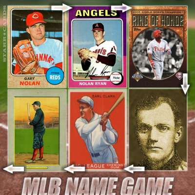 MLB Name Game: Linking Gary Nolan Ryan Howard Earl Clark Griffith and... ?