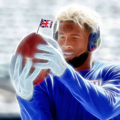 Odell Beckham Jr. brings American football to London's Twickenham Stadium