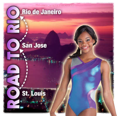 On the road to Rio 2016 Olympic Games with Gabby Douglas