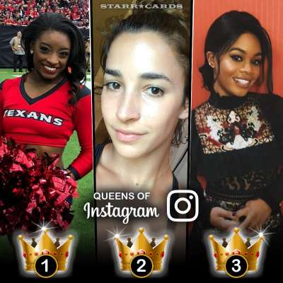 Queens of Instagram: Simone Biles, Aly Raisman and Gabby Douglas lead in followers among gymnasts