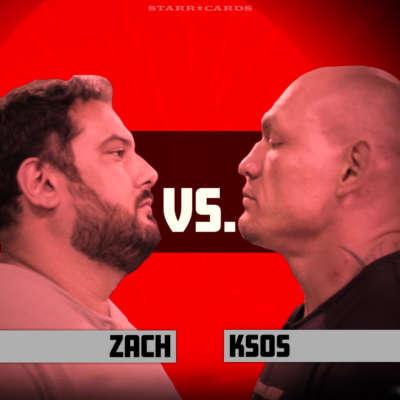 Regular folk try to punch a UFC fighter: Zach vs KSOS
