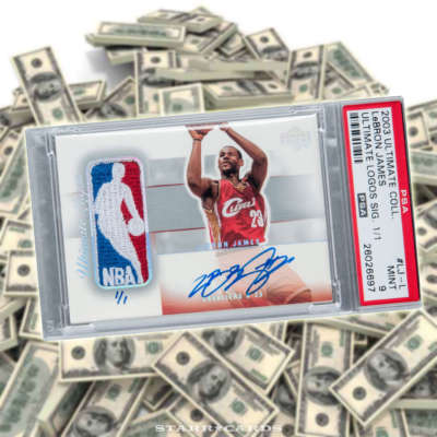 Signed Upper Deck LeBron James rookie card fetches pile of cash at auction