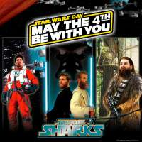 Star Wars Day with the San Jose Sharks: May the 4th Be With You