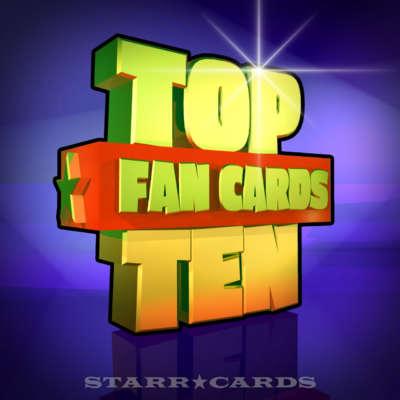 Starr Cards Top Ten Fan Cards 11